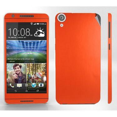 Snooky 28101 Digital Print Mobile Skin Sticker For HTC Desire 820 - Orange