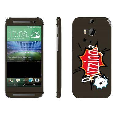 Snooky 28132 Digital Print Mobile Skin Sticker For HTC One M8 - Multi