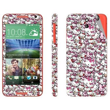 Snooky 28099 Digital Print Mobile Skin Sticker For HTC Desire 610 - Multi