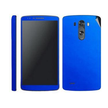 Snooky 38777 Mobile Skin Sticker For Lg G3 - Blue