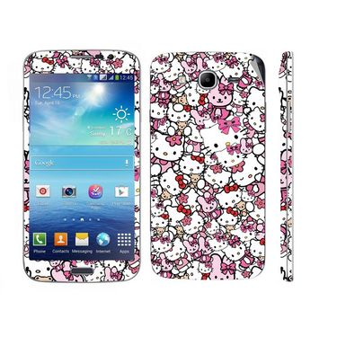Snooky 38817 Digital Print Mobile Skin Sticker For Samsung Galaxy Mega 5.8 GT-I9152 - Pink