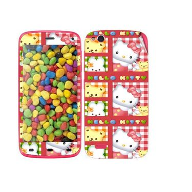 Snooky 38874 Digital Print Mobile Skin Sticker For Gionee Elife E3 - Pink