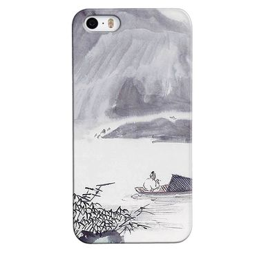Snooky 35134 Digital Print Hard Back Case Cover For Apple iPhone 5s - Grey