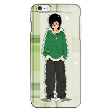 Snooky 35194 Digital Print Hard Back Case Cover For Apple iPhone 6 - Green
