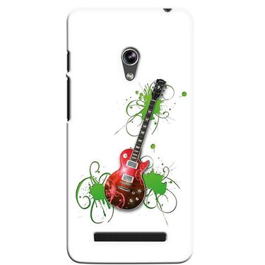 Snooky 36131 Digital Print Hard Back Case Cover For Asus Zenphone 5 - White