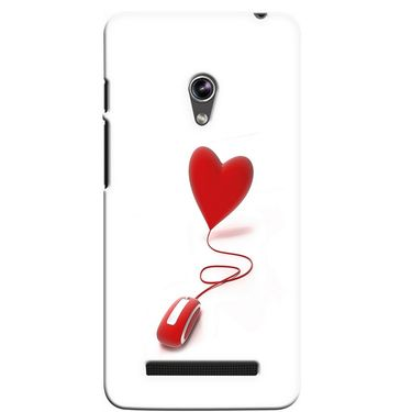 Snooky 36132 Digital Print Hard Back Case Cover For Asus Zenphone 5 - White