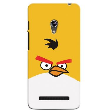 Snooky 36143 Digital Print Hard Back Case Cover For Asus Zenphone 5 - Yellow