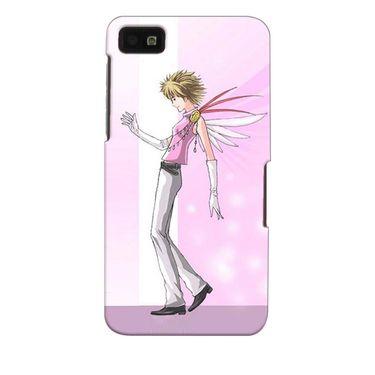 Snooky 35340 Digital Print Hard Back Case Cover For Blackberry Z10 - Pink