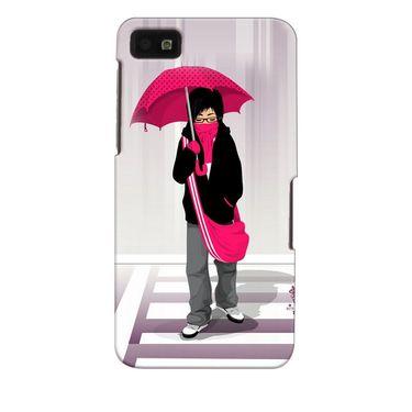 Snooky 35343 Digital Print Hard Back Case Cover For Blackberry Z10 - Multicolour