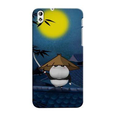 Snooky 37310 Digital Print Hard Back Case Cover For HTC Desire 816 - Blue