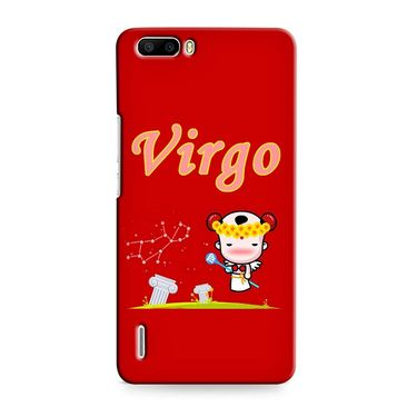 Snooky 37388 Digital Print Hard Back Case Cover For huawei honor 6 Plus - Red