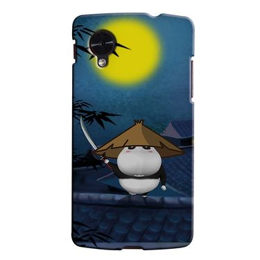 Snooky 35990 Digital Print Hard Back Case Cover For LG Google Nexus 5 - Blue