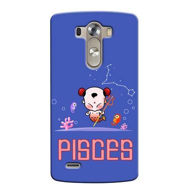 Snooky 37639 Digital Print Hard Back Case Cover For LG G3 - Purple