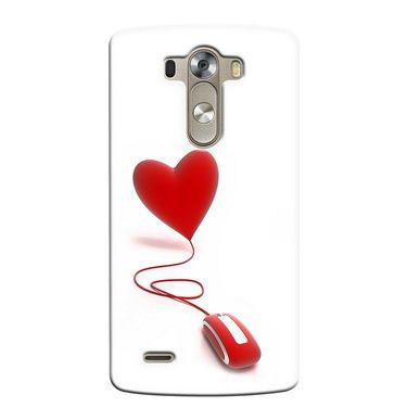 Snooky 37652 Digital Print Hard Back Case Cover For LG G3 - White