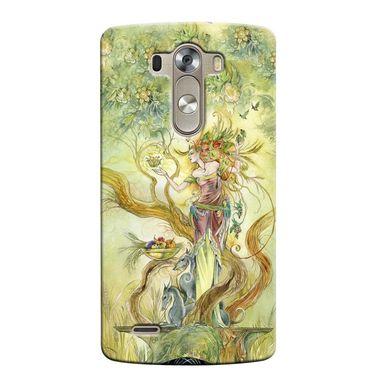 Snooky 37657 Digital Print Hard Back Case Cover For LG G3 - Green