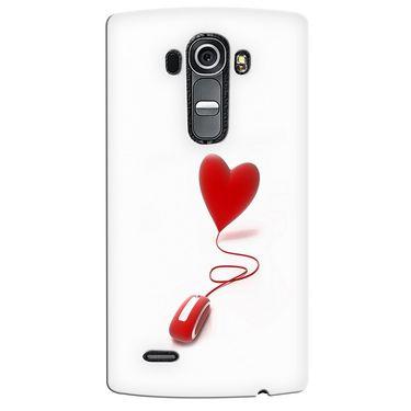 Snooky 37952 Digital Print Hard Back Case Cover For LG G4 - White