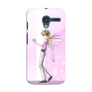 Snooky 35851 Digital Print Hard Back Case Cover For Motorola Moto X - Pink