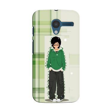 Snooky 35855 Digital Print Hard Back Case Cover For Motorola Moto X - Green
