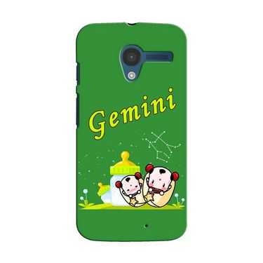 Snooky 35867 Digital Print Hard Back Case Cover For Motorola Moto X - Green