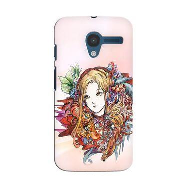 Snooky 35888 Digital Print Hard Back Case Cover For Motorola Moto X - Multicolour