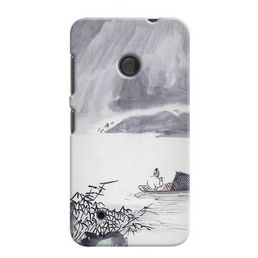 Snooky 37965 Digital Print Hard Back Case Cover For Nokia Lumia 530 - Grey