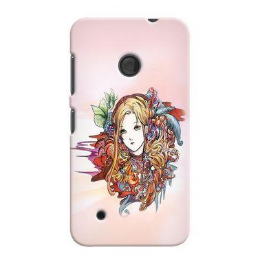 Snooky 38008 Digital Print Hard Back Case Cover For Nokia Lumia 530 - Multicolour