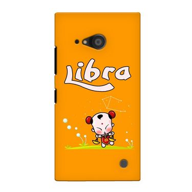 Snooky 38085 Digital Print Hard Back Case Cover For Nokia Lumia 735 - Yellow
