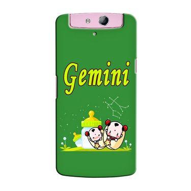 Snooky 36787 Digital Print Hard Back Case Cover For Oppo N1 Mini N5111 - Green