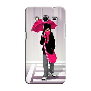 Snooky 35443 Digital Print Hard Back Case Cover For Samsung Galaxy Core 2 - Multicolour