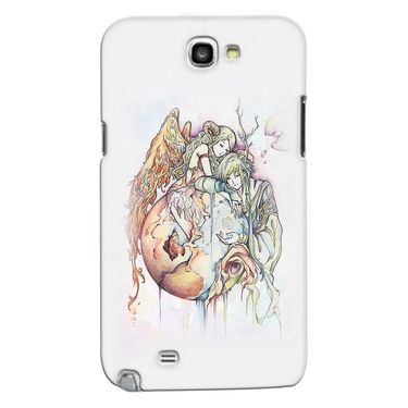 Snooky 35625 Digital Print Hard Back Case Cover For Samsung Galaxy Note 2 N7100 - Multicolour
