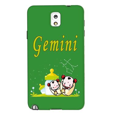 Snooky 35656 Digital Print Hard Back Case Cover For Samsung Galaxy Note 3 N900  - Green