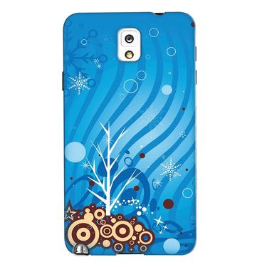 Snooky 35681 Digital Print Hard Back Case Cover For Samsung Galaxy Note 3 N900  - Blue