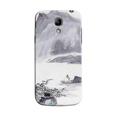 Snooky 35734 Digital Print Hard Back Case Cover For Samsung Galaxy S4 Mini I9192 - Grey