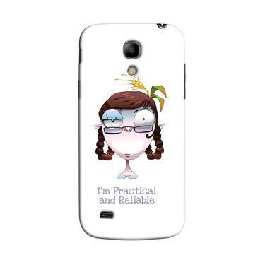 Snooky 35765 Digital Print Hard Back Case Cover For Samsung Galaxy S4 Mini I9192 - White