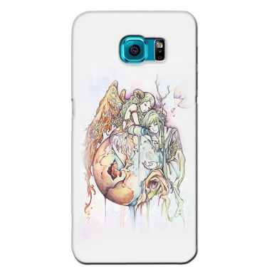 Snooky 36206 Digital Print Hard Back Case Cover For Samsung Galaxy S6 - Multicolour