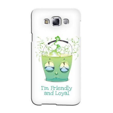 Snooky 36297 Digital Print Hard Back Case Cover For Samsung Galaxy A3 - White