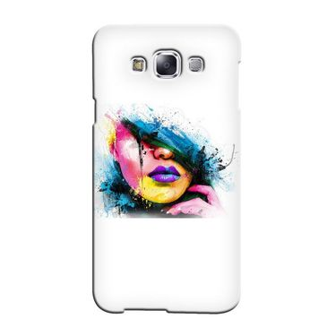 Snooky 36303 Digital Print Hard Back Case Cover For Samsung Galaxy A3 - White