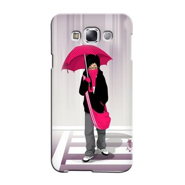 Snooky 36324 Digital Print Hard Back Case Cover For Samsung Galaxy A5 - Multicolour