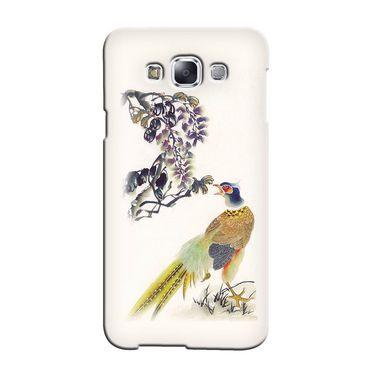 Snooky 36366 Digital Print Hard Back Case Cover For Samsung Galaxy A7 - Cream
