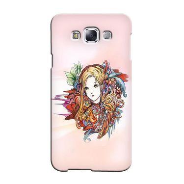Snooky 36408 Digital Print Hard Back Case Cover For Samsung Galaxy A7 - Multicolour