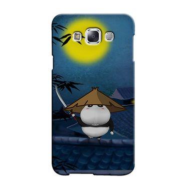 Snooky 36510 Digital Print Hard Back Case Cover For Samsung Galaxy E7 - Blue
