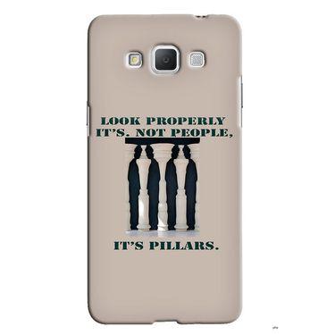Snooky 36549 Digital Print Hard Back Case Cover For Samsung Galaxy Grand max - Cream