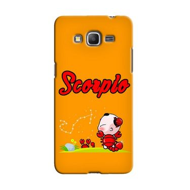 Snooky 36584 Digital Print Hard Back Case Cover For Samsung Galaxy Grand Prime - Yellow