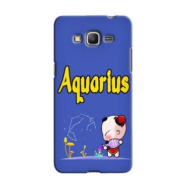 Snooky 36586 Digital Print Hard Back Case Cover For Samsung Galaxy Grand Prime - Purple