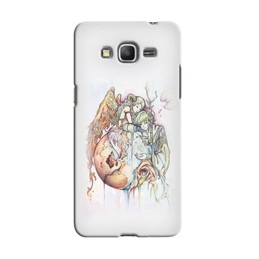 Snooky 36606 Digital Print Hard Back Case Cover For Samsung Galaxy Grand Prime - Multicolour