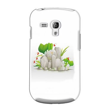 Snooky 36855 Digital Print Hard Back Case Cover For Samsung Galaxy S3 Mini - White