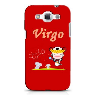 Snooky 38238 Digital Print Hard Back Case Cover For Samsung Galaxy Grand Quattro GT-I8552 - Red