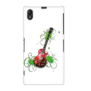 Snooky 37101 Digital Print Hard Back Case Cover For Sony Xperia Z1 - White