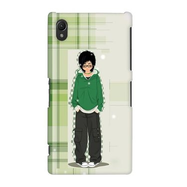 Snooky 37125 Digital Print Hard Back Case Cover For Sony Xperia Z2 - Green