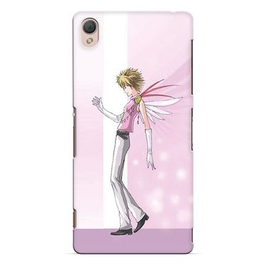 Snooky 37171 Digital Print Hard Back Case Cover For Sony Xperia Z3 - Pink